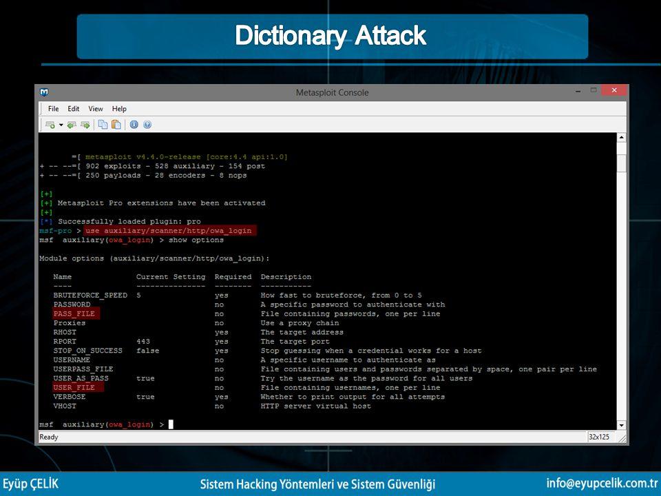 Pentestlerin belirli aralıklarla yapılması Microsoft güvenlik bültenlerinin takip edilmesi Gerekli yamaların vakit kaybedilmeden kurulması Güvenlik yazılımının kullanılması (Anti virüs – Internet Security) Windows güvenlik duvarının sürekli açık ve aktif olarak çalışır durumda olmasını sağlamak DMZ alanlarının kurulması Firewall, ips-ids sistemlerinin kullanılması Web sunucuları için WAF (Web Application Firewall) kullanılması Erişim yetkilendirmesi Fiziksel güvenlik