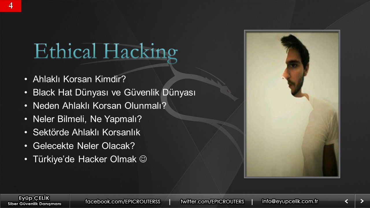 55 Hacking Bilgisi FootprintingScanningEnumerationHacking Gaining Access Privileges Escalation Hiding Files Cover Tracking