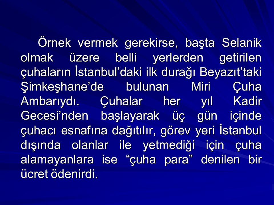 İstanbul esnafını ilgilendiren işlerden ve esnaftan sorumlu olanlar, kadılıklar, ihtisap ağaları ve son dönemde Şehremaneti'ydi.