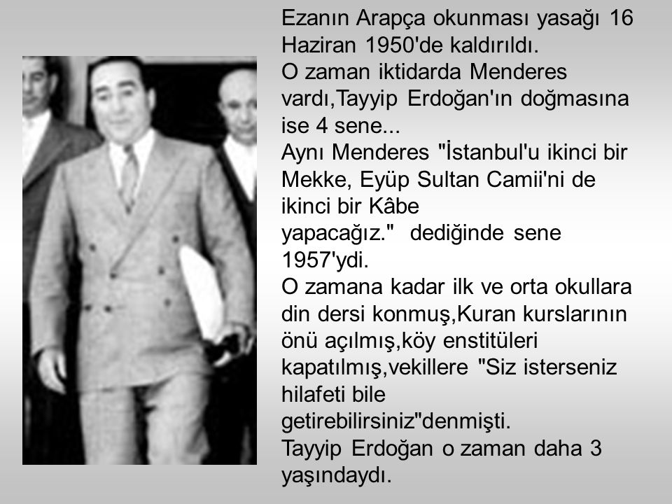 Bir arkadaşım Türkiye de karşı devrim oluyor farkında mısın? diye sordu.