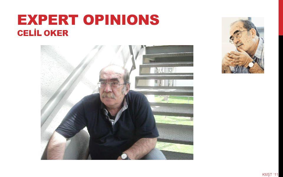 EXPERT OPINIONS CELİL OKER KMŞT '11