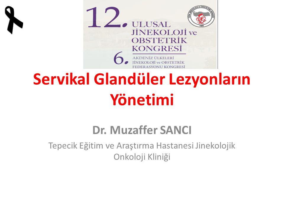 Servikal Glandüler Lezyonların Yönetimi Dr.