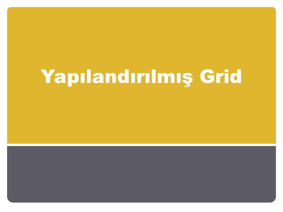 Yapılandırılmış grid öğrencilerin tahminle doğru yanıtı bulmalarını zorlaştıran bir ölçme değerlendirme aracıdır.