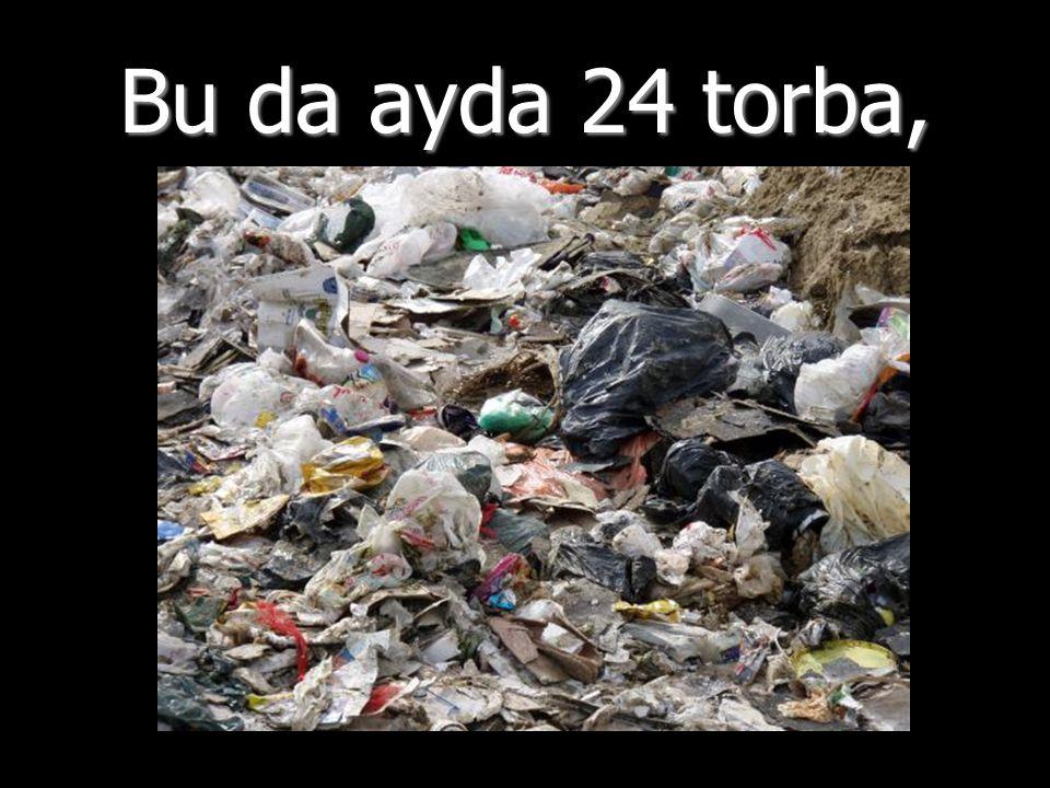 Çöplerimizi çöp kovasına atarak ve bez torba kullanarak, her birimiz doğayı haftada 6 plastik torbadan korumuş oluruz.