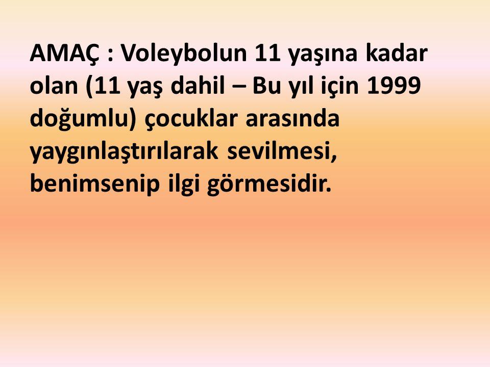 13.10.2 Yarışma Mini Voleybolunda, İlçe, İl, Grup ve yarı final yarışmalarında yazı hakemliği görevi gönüllülerce yapılır.