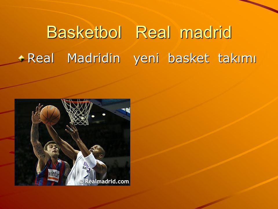 Basketbol Real madrid Real Madridin yeni basket takımı