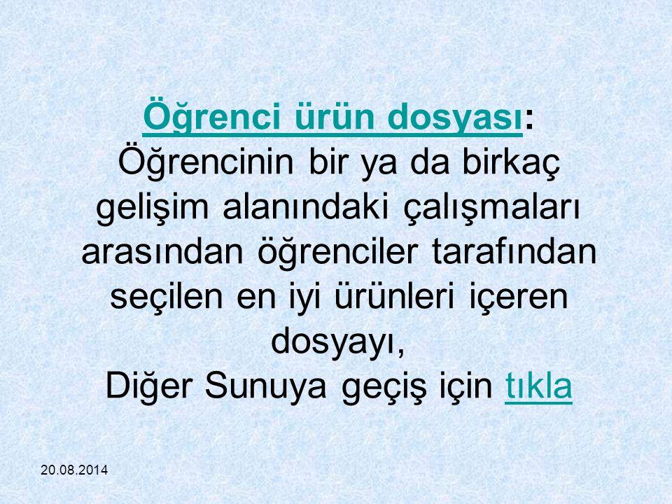 20.08.2014 2.Performans Görevi ilköğretim Kurumları Yönetmeliği nin 35.
