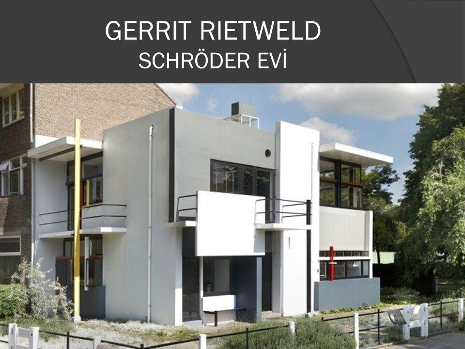 GERRIT RIETWELD SCHRÖDER EVİ