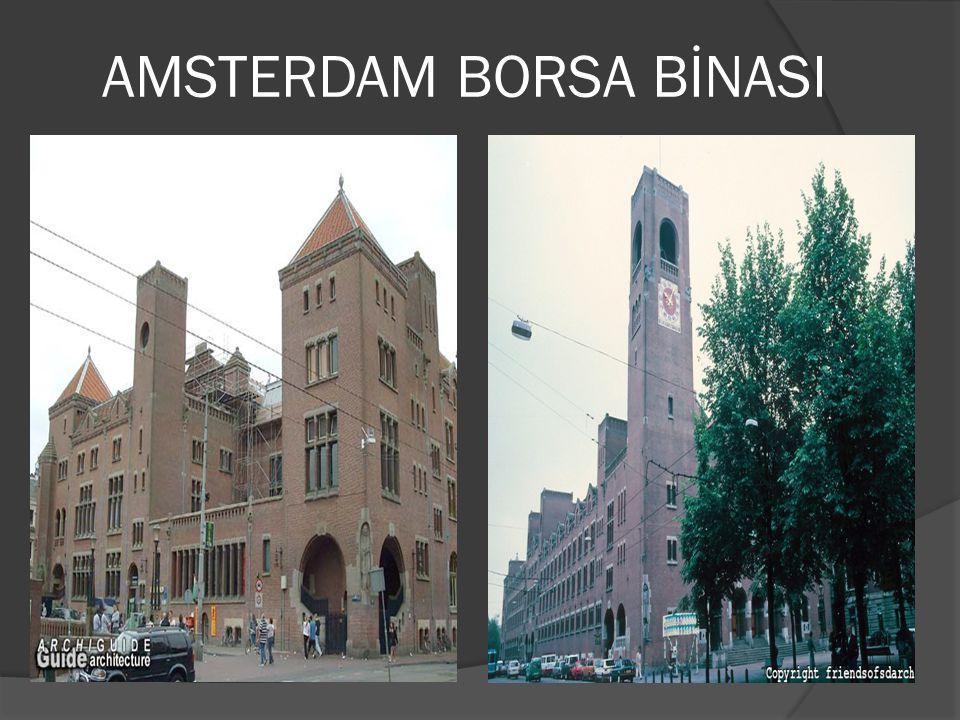 AMSTERDAM BORSA BİNASI