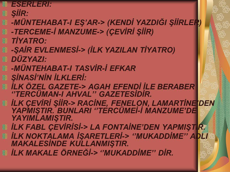 HÜSEYİN SİRET(1872-1939) -BİREYSEL KONULARDA; AŞK, KADIN, DOĞA, AİLE, GURBET ÜZERİNE YAZMIŞTIR.