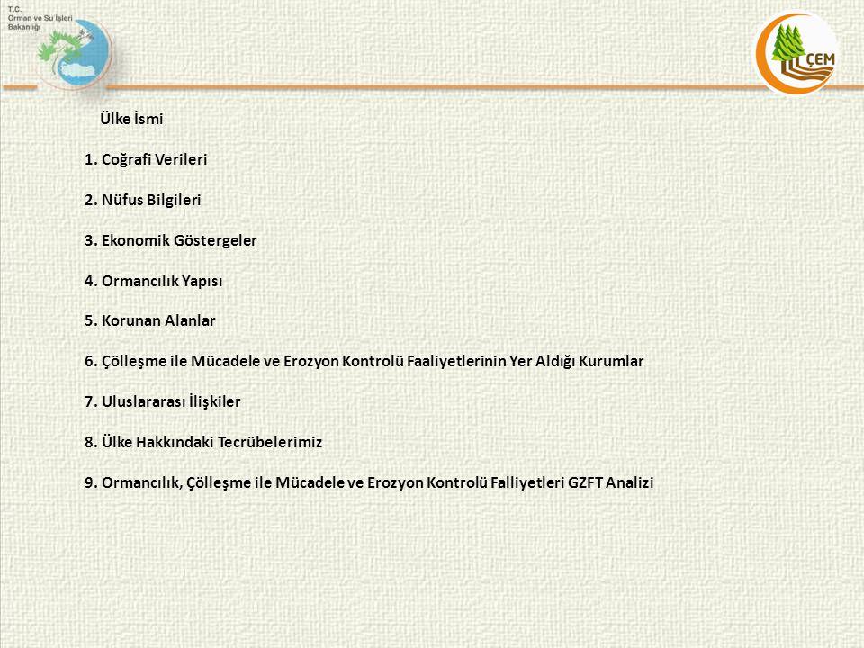 3.5.Diğer İlgili Konular 1997 yılında Ülkemizde (Antalya) düzenlenen XI.