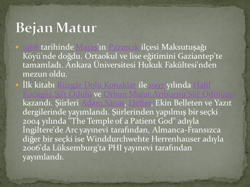 1968 tarihinde Maraş'ın Pazarcık ilçesi Maksutuşağı Köyü'nde doğdu. Ortaokul ve lise eğitimini Gaziantep'te tamamladı. Ankara Üniversitesi Hukuk Fakül