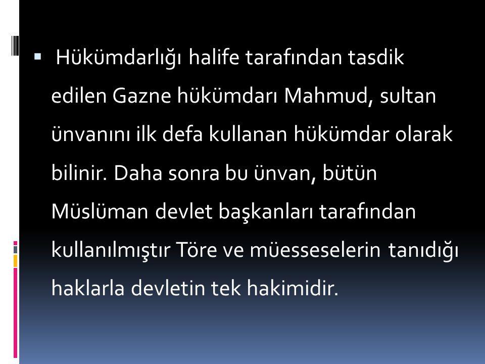 """ a-Hükümdar: İlk Türk devletlerindeki """"kut"""" inancı Türkler İslamiyeti kabul ettikten sonra İslami bir anlam kazanarak """"Allah'ın takdiri veya nasibi"""""""