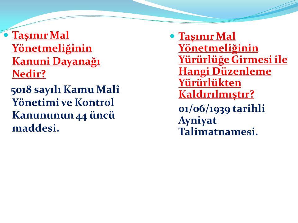 Karar Tarihi : Bakanlar Kurulunun 28/12/2006 tarihli ve 2006/11545 sayılı Kararı. Yayım Tarihi : 18/01/2007 tarihli ve 26407 sayılı Resmi Gazete.