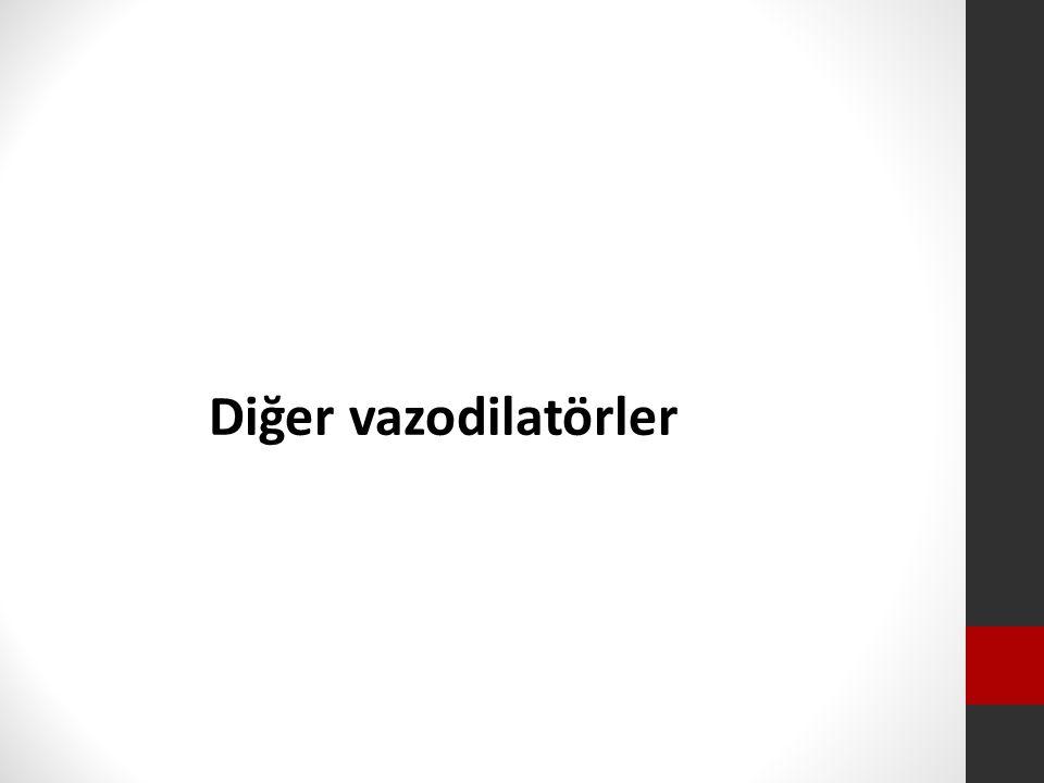 Diğer vazodilatörler