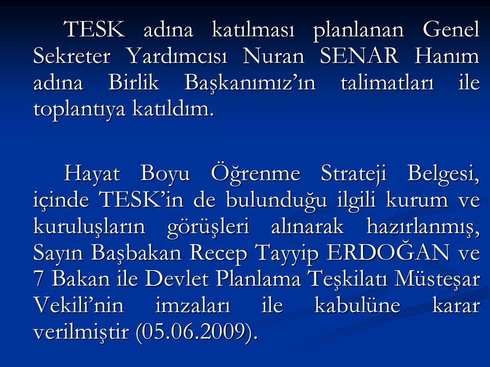 Belgenin Amacı: Hayat Boyu Öğrenme Strateji Belgesinin hazırlanmasındaki amaç, Türkiye'de toplumun ihtiyaç ve beklentilerine cevap verebilecek bir hayat boyu öğrenme sistemi oluşturmak ve bu sistemi işler ve sürdürülebilir duruma getirmektir.
