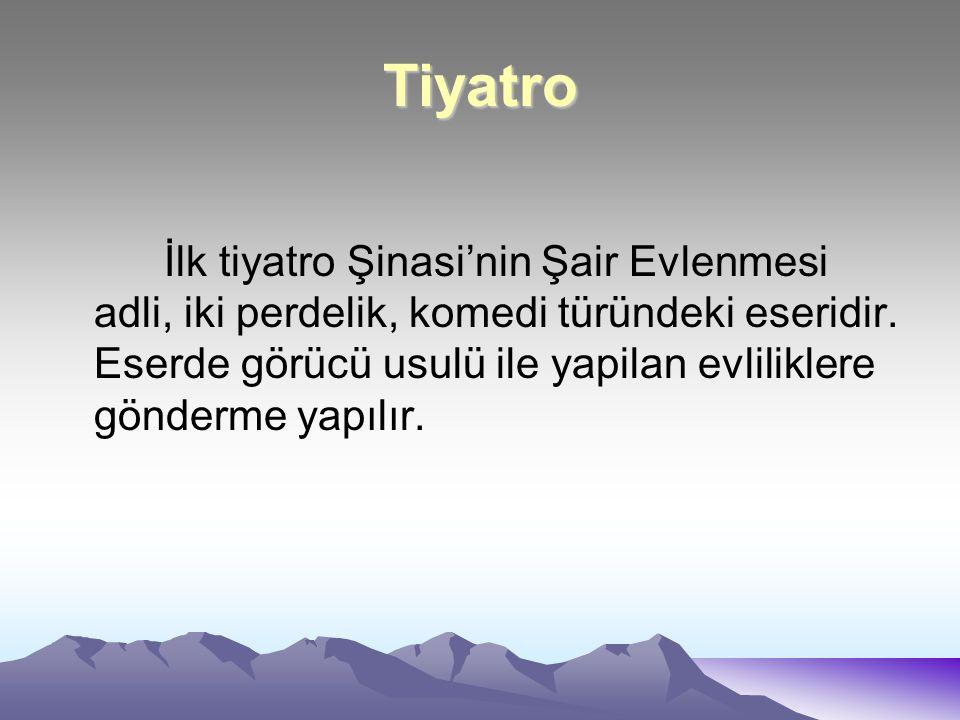 Şiir Tanzimat döneminde en önemli yenilik şiirde görülür.