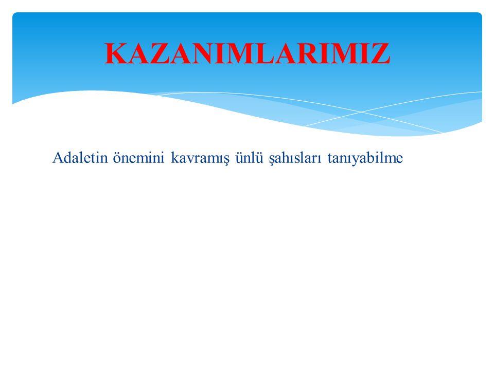 Türkiye Cumhuriyeti nin önemli bir özelliği olan sosyal devlet anlayışında, insan hak ve özgürlüklerine saygı esastır.