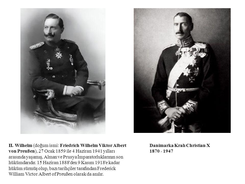 II. Wilhelm (doğum ismi: Friedrich Wilhelm Viktor Albert von Preußen), 27 Ocak 1859 ile 4 Haziran 1941 yılları arasında yaşamış, Alman ve Prusya İmpar