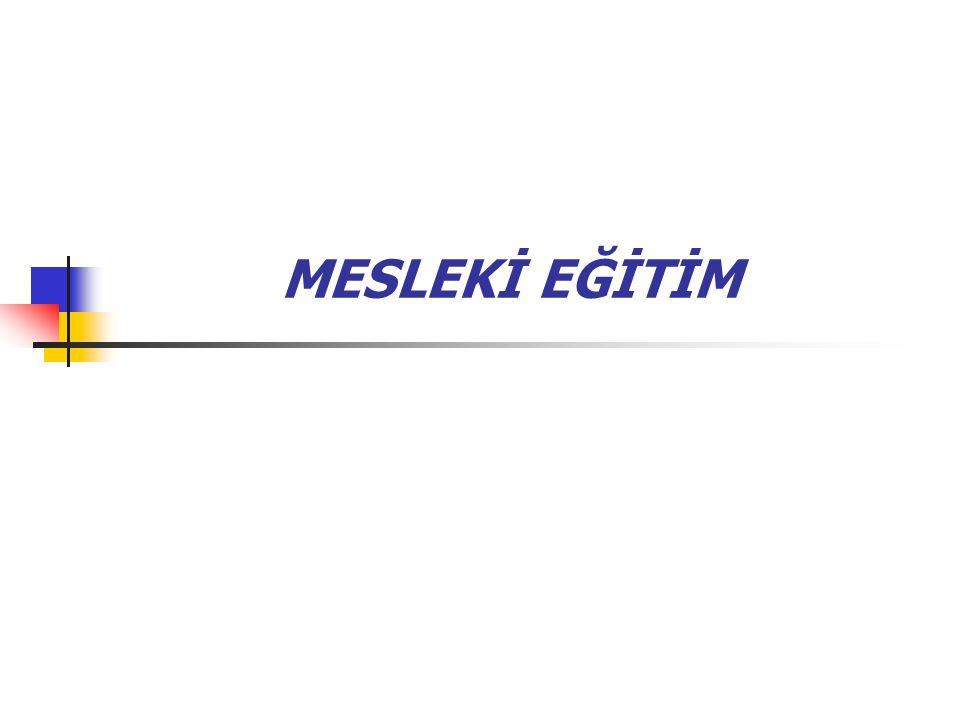 MESLEKİ EĞİTİM