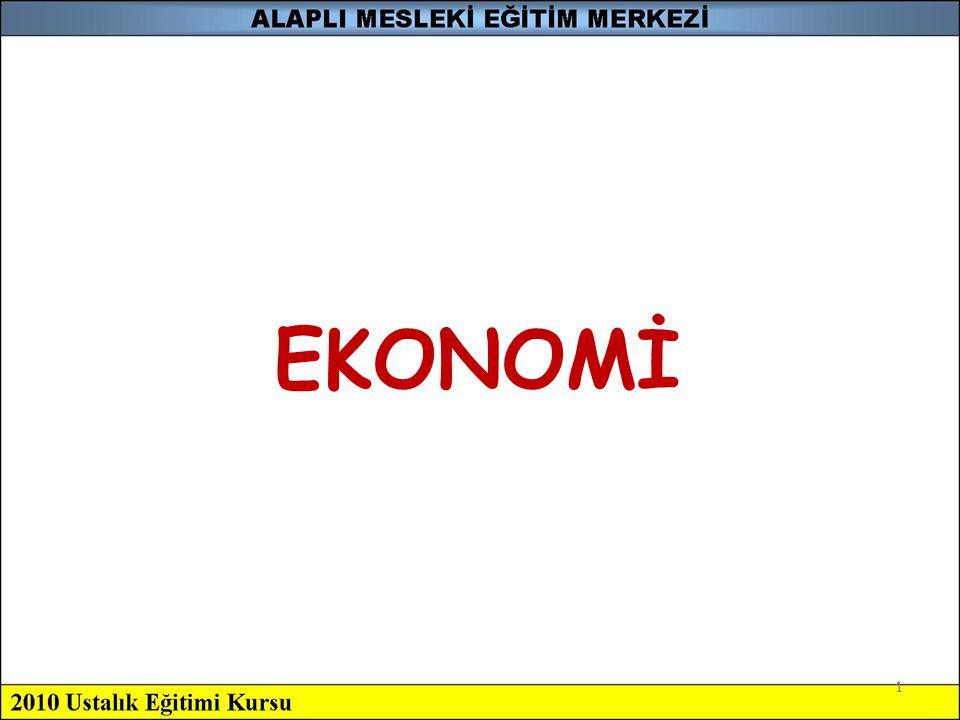 1 EKONOMİ 1