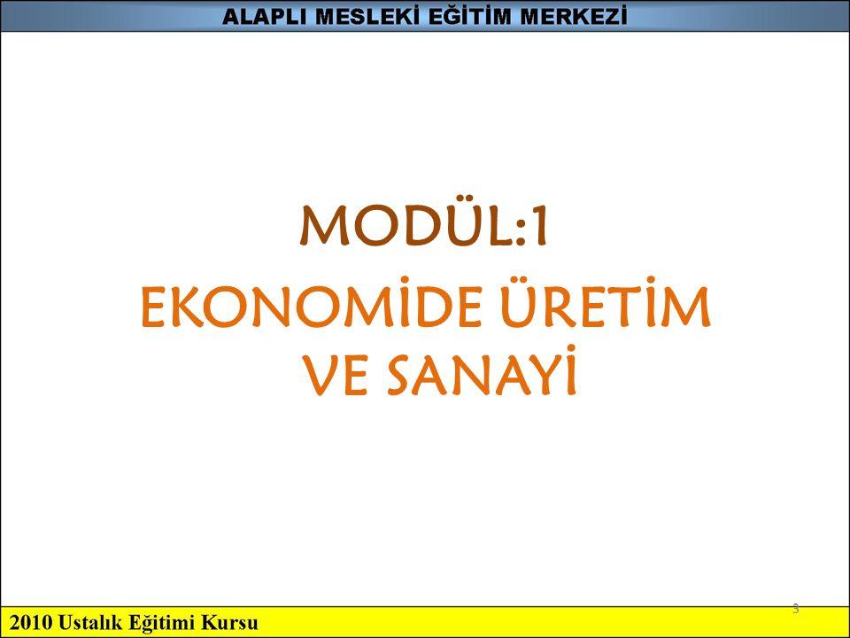 34 4-Büyük Sanayi Büyük çaptaki ekonomik faaliyetleri ifade eder.
