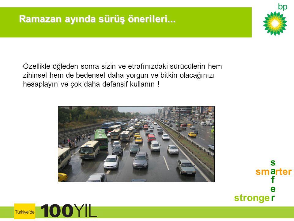 safersafer stronge sm rter Ramazan ayında sürüş önerileri... Ramazan ayında sürüş önerileri... Özellikle öğleden sonra sizin ve etrafınızdaki sürücüle