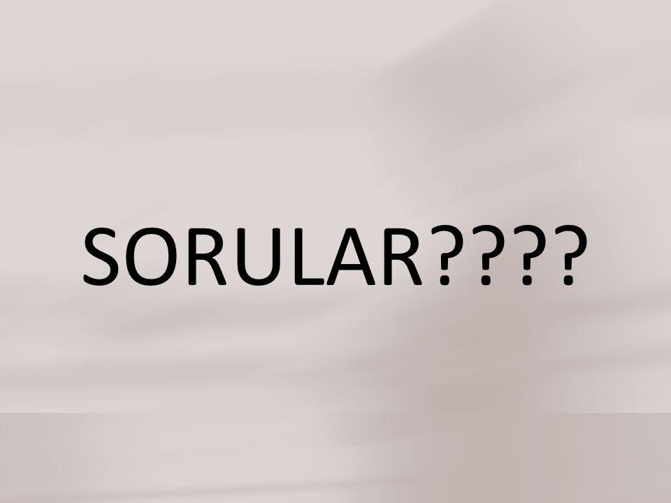 SORULAR????