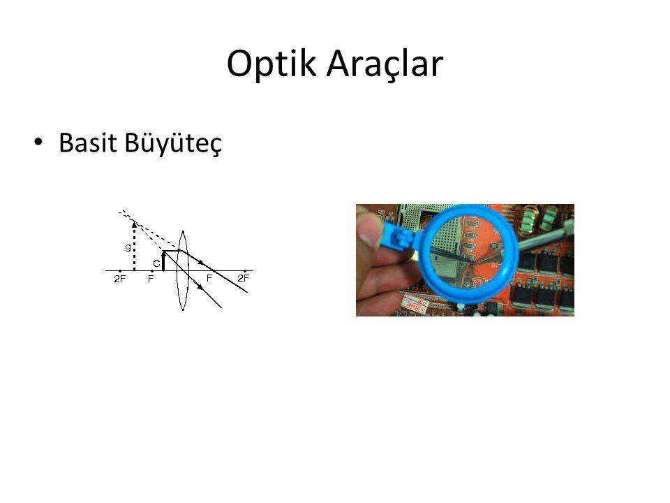 Optik Araçlar Basit Büyüteç