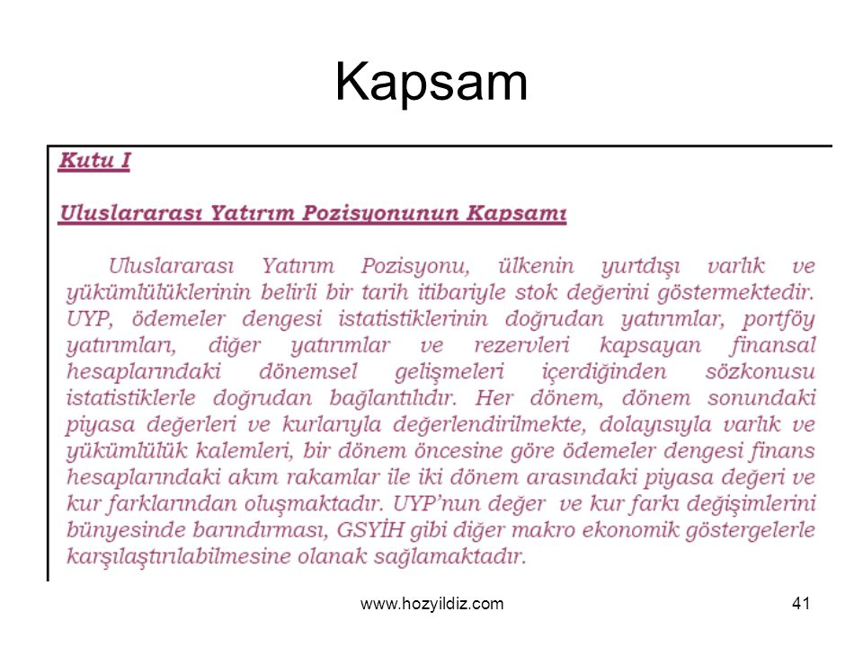 41 Kapsam www.hozyildiz.com