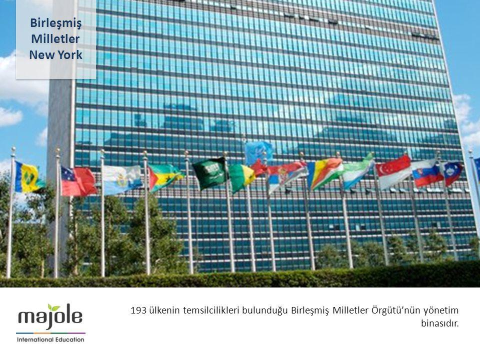 BİRLEŞMİŞ MİLLETLER GENEL MERKEZİNDE EĞİTİM SEMİNERİ 2- 10 Aralık 2012 193 ülkenin temsilcilikleri bulunduğu Birleşmiş Milletler Örgütü'nün yönetim bi