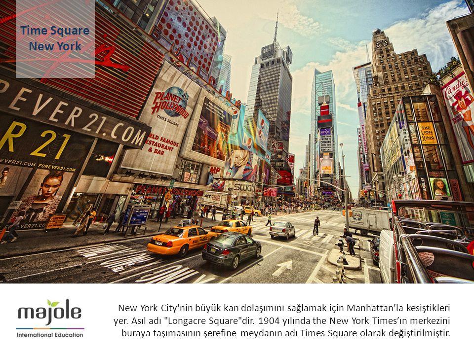 2- 10 Aralık 2012 New York City'nin büyük kan dolaşımını sağlamak için Manhattan'la kesiştikleri yer. Asıl adı