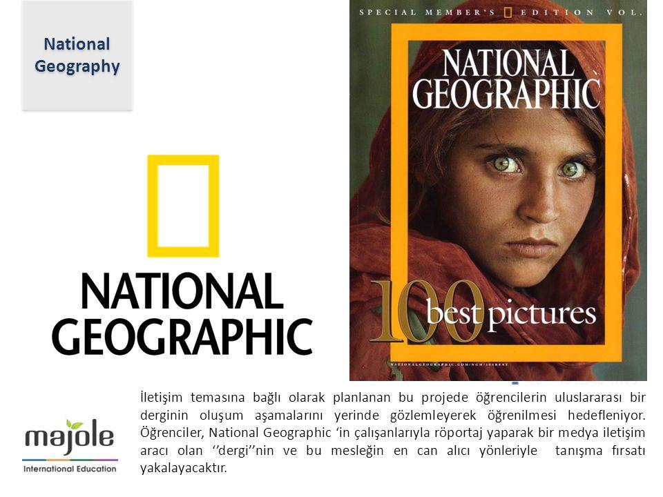 Lower Manhattan (New York) 2- 10 Aralık 2012 18 – 28 Ocak 2013 İletişim temasına bağlı olarak planlanan bu projede öğrencilerin uluslararası bir dergi