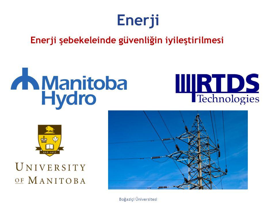 Enerji Boğaziçi Üniversitesi Enerji şebekeleinde güvenliğin iyileştirilmesi