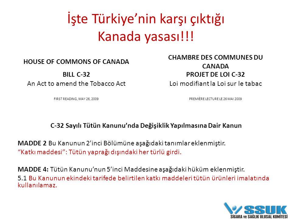 İşte Türkiye'nin karşı çıktığı Kanada yasası!!.