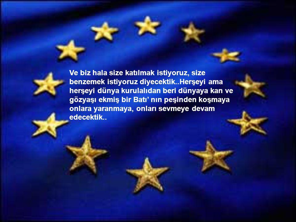 Bize insan haklarını, demokrasiyi, azınlık(!) haklarını öğreteceklerdi..