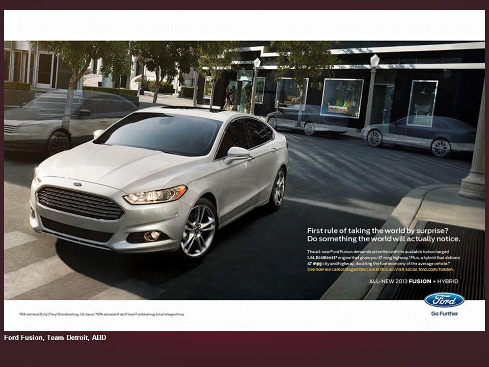 Ford Fusion, Team Detroit, ABD