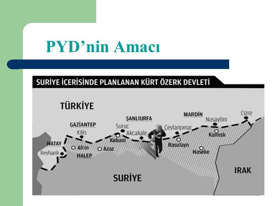 Türkiye'nin PYD'ye Karşı Tutumu Gelişmeleri sert bir şekilde kınamıştır. PYD'ye karşı muhalifleri desteklemiştir. PYD lideri Salih Müslim ile görüşmel
