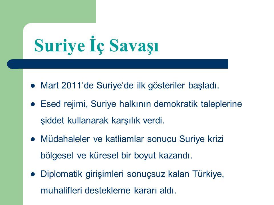 PYD'nin Suriye'nin Kuzeyindeki Faaliyetleri ve Türkiye Bekir Ünal & Erdem Kaya