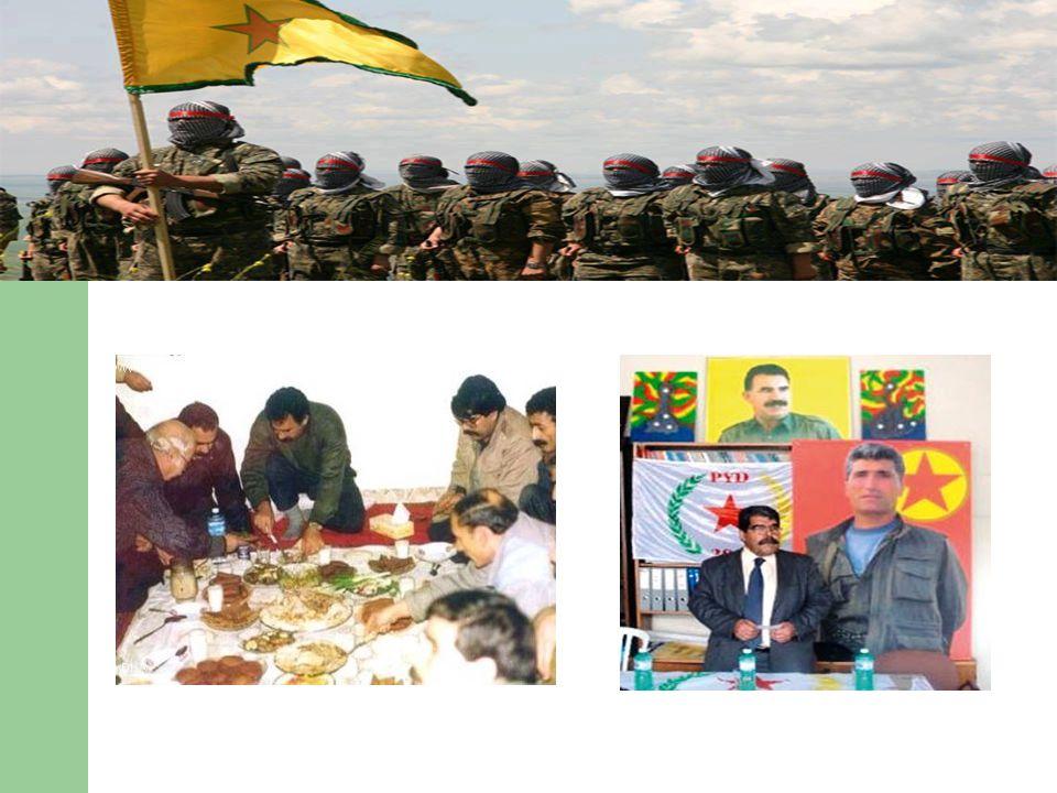 PKK/KCK ile PYD Arasındaki İlişki KCK yapılanması, PKK ve terör örgütünün diğer bütün organizasyonlarını içine alan konfederal bir devlet oluşumudur.