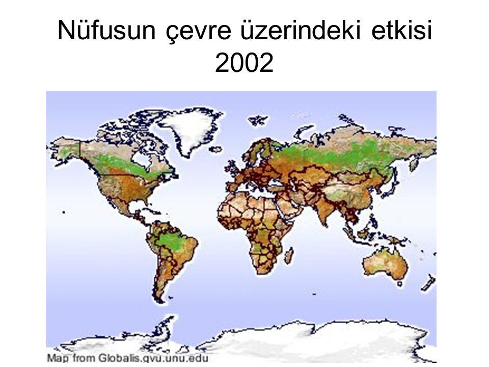 Nüfusun çevre üzerindeki etkisi 2002