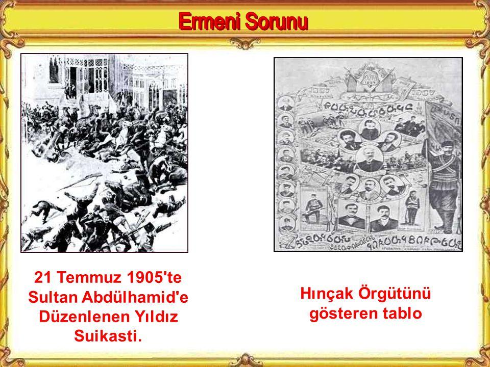 İngiltere ve Rusya'nın kışkırtmaları ile Osmanlı Devletinde yaşayan ermeniler büyük ermenistanı gerçekleştirmek için isyanlar çıkarmaya başlamıştır