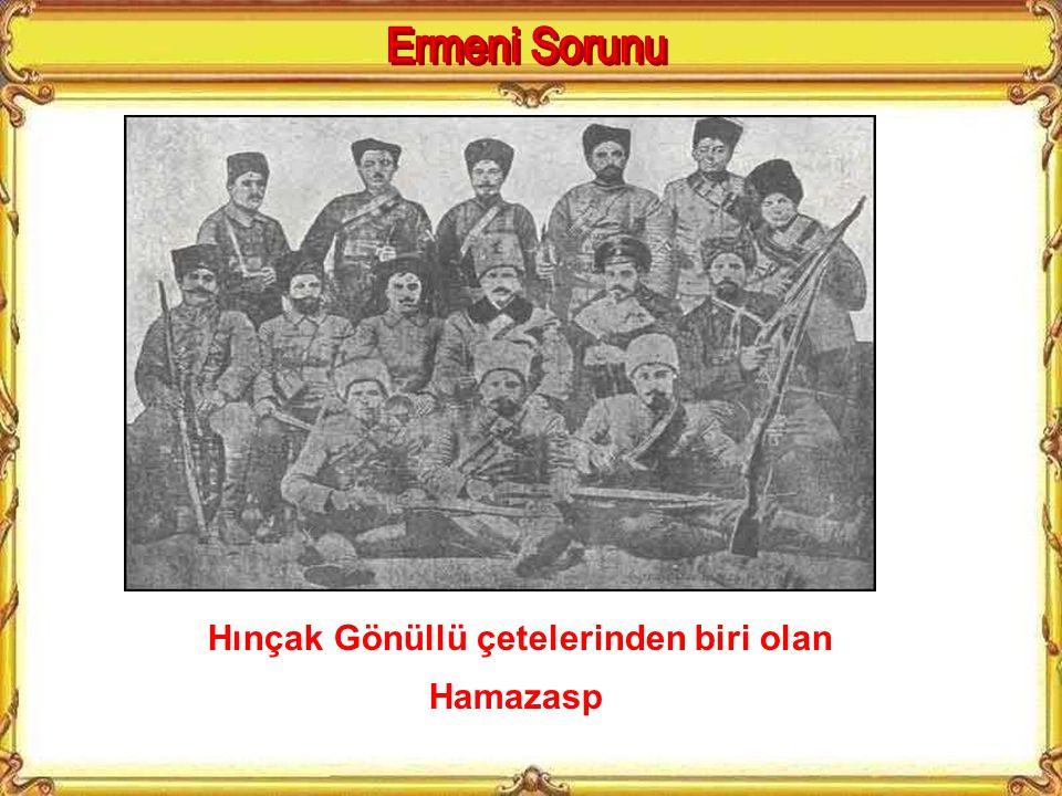 21 Temmuz 1905'te Sultan Abdülhamid'e Düzenlenen Yıldız Suikasti. Hınçak Örgütünü gösteren tablo