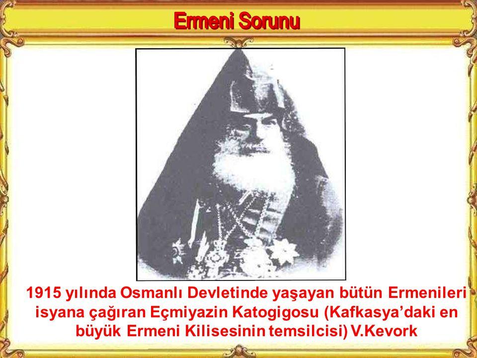 Kafkasya'da Osmanlılara karşı harb eden ve girdikleri mahallelerde zulüm yapan Hınçak Gönüllü çetelerinden bir grup. (İzk gazetesi 2 Mart 1915)