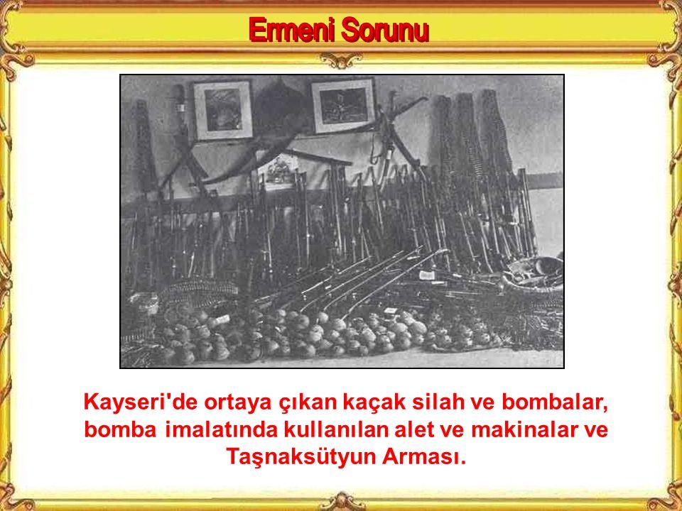 1915 yılında Osmanlı Devletinde yaşayan bütün Ermenileri isyana çağıran Eçmiyazin Katogigosu (Kafkasya'daki en büyük Ermeni Kilisesinin temsilcisi) V.