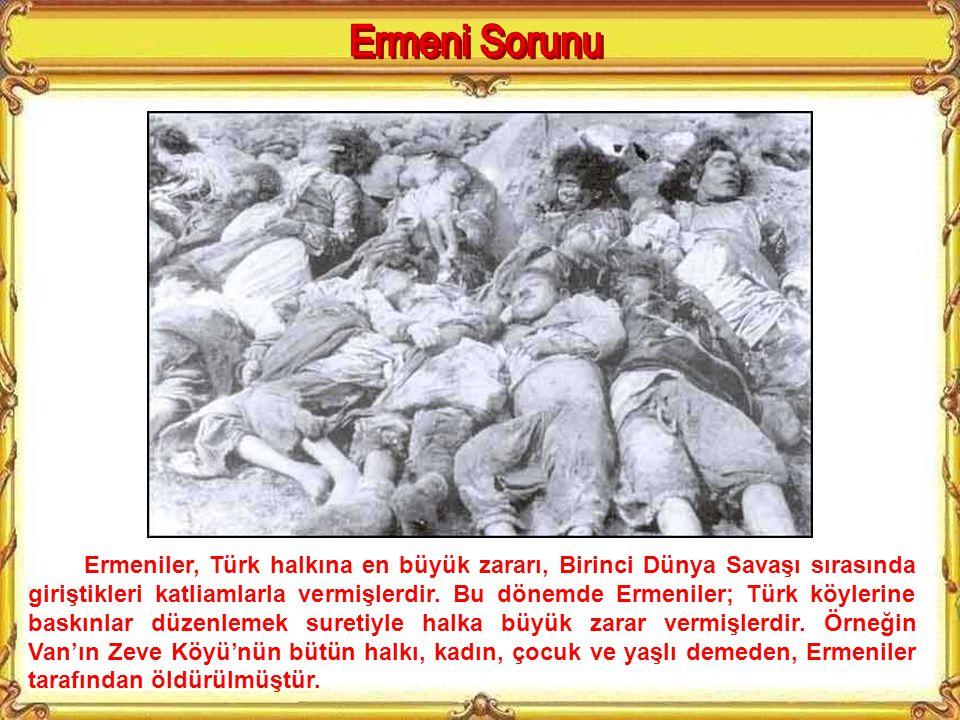 1915'teki Van ayaklanmasında görev alan Ermeni çetelerinden bir grup.