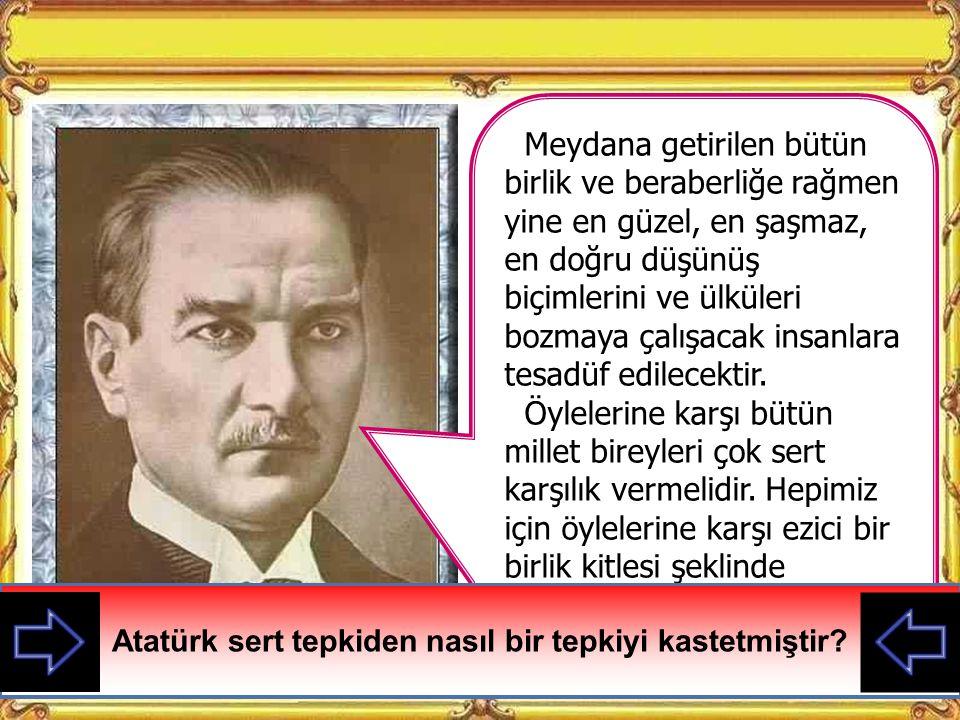 KAZANIMLAR 7. Türkiye Cumhuriyeti'nin temel niteliklerine yönelik iç ve dış tehditlere karşı korunması konusunda duyarlı olur.
