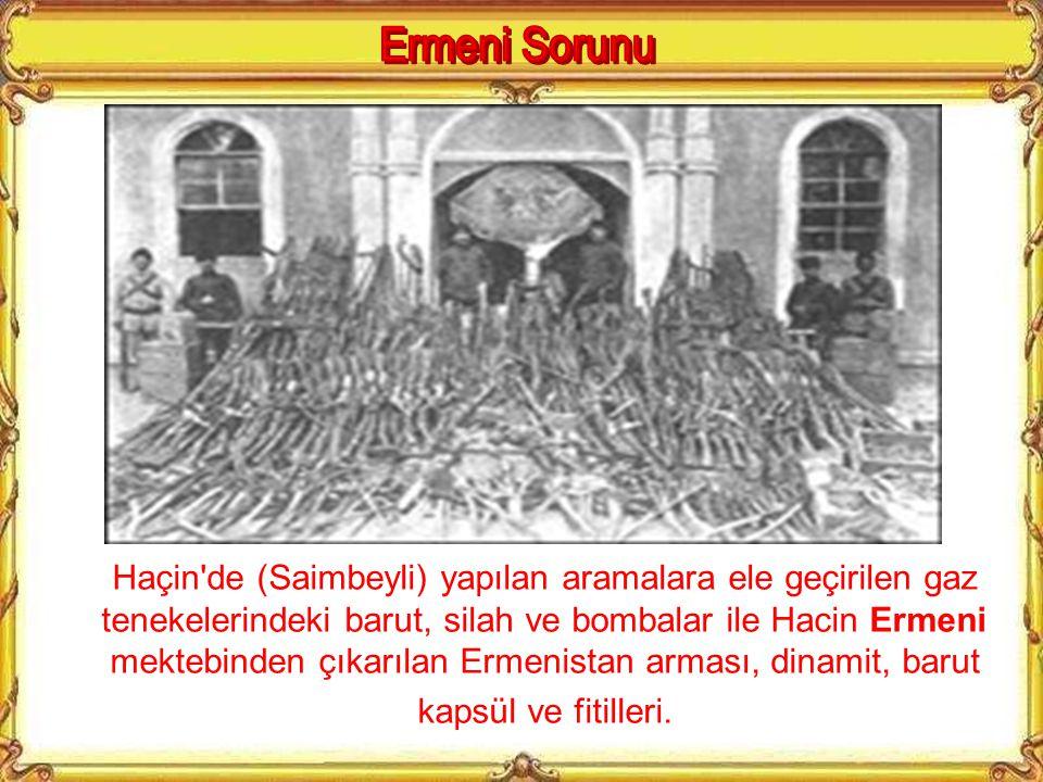 Van'ın Rus ordusu tarafından işgalini kolaylaştırmak için isyan eden Ermeniler'in Osmanlı askerlerine karşı siperlerdeki fotoğrafı.