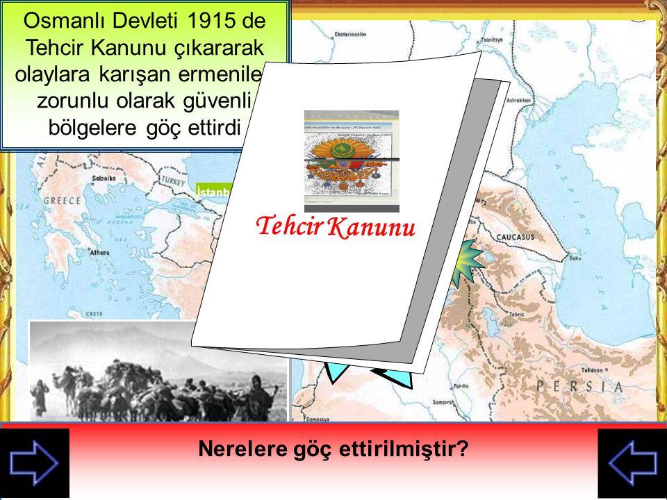 I. Dünya Savaşında ermeniler Büyük ermenistanı gerçekleştirmek istediler Seferberlik ilan edildiğinde askerden kaçtılar Rus askerlerine yardımcı olara