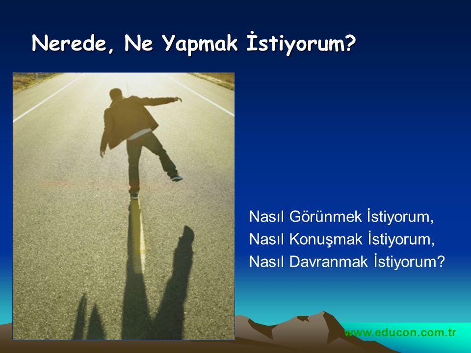 www.educon.com.tr Kişisel imaj Nasıl Oluşur ?